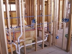 New construction, commercial use property needs a plumber in Houston to deliver a plumbing inspection